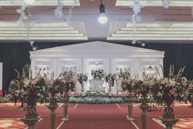 Dekorasi Grand Galaxt Conventrion Center Hall Bekasi